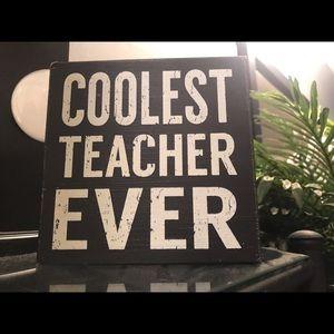 sixtrees Other - Teacher appreciation 🍎 Wall/Desk art